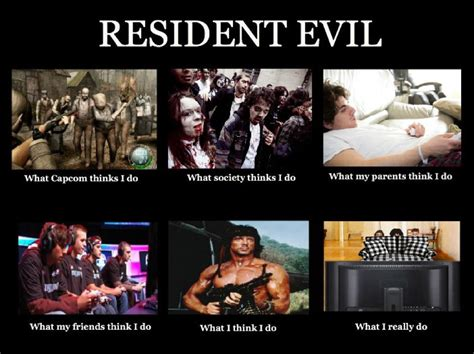Resident Evil Memes - what i do resident evil biohazard know your meme