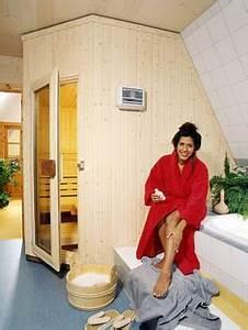 Küche Unter Der Dachschräge : sauna in der dachschr ge k che bad sanit r ~ Lizthompson.info Haus und Dekorationen