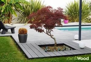 jardiniere incrust piscine pinterest jardinieres With idee terrasse exterieure contemporaine 2 5 conseils pour une plage de piscine melant esprit bord de
