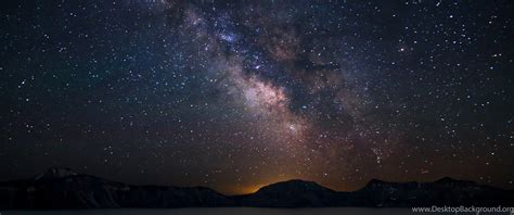 Milky Way Constellation The Night Sky Wallpapers