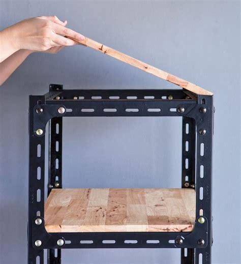 ชั้นวางของทำเอง จากเหล็กฉาก สร้างระเบียบแบบมีสไตล์ - my home