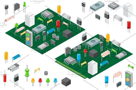 electronic hardware components     images