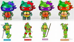 Hello Kitty X Teenage Mutant Ninja Turtles Mashup Toys