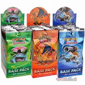 Pokémon TCG XY Evolutions Base 20th Anniversary Korean ...