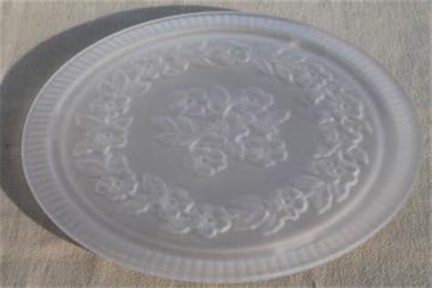 antique vintage pressed pattern glass dishes serving