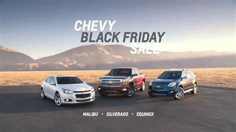 Chevrolet Black Friday by Chevrolet Black Friday Sale Commercial 2014