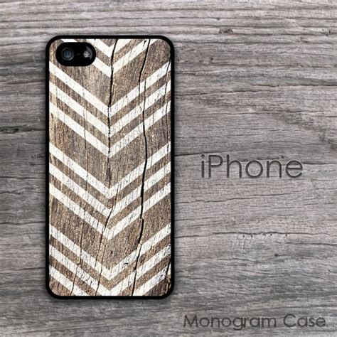 wood rustic  white arrows iphone case
