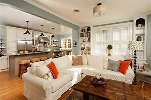 living dining room combo decorating ideas living room With kitchen and living room design