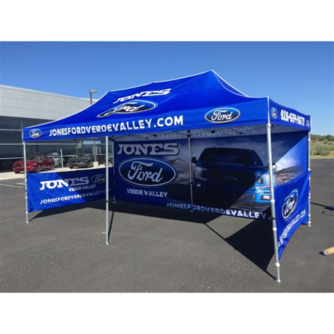 ford    full color custom canopy tent  walls