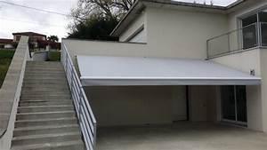 Toile Pour Store Banne : store banne monobloc pr s de clermont ferrand puy de d me ~ Dailycaller-alerts.com Idées de Décoration