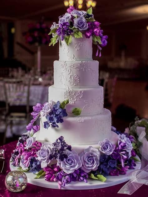 25 Best Ideas About Purple Wedding Cakes On Pinterest