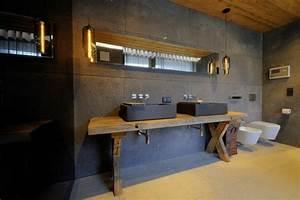 Salle De Bain Style Industriel : la vasque rectangulaire id es d co pour votre salle de bains ~ Dailycaller-alerts.com Idées de Décoration