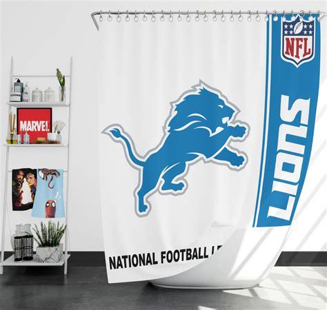 nfl detroit lions shower curtain ebeddingsets
