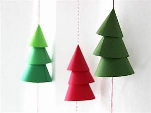 Deco Noel En Papier : decoration de noel en papier carton ~ Melissatoandfro.com Idées de Décoration