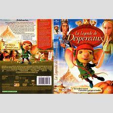 Jaquette Dvd De La Légende De Despereaux  Cinéma Passion