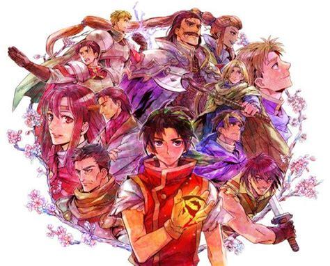 Suikoden Wallpaper Suikoden Video game art Anime art