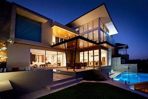 stunning outdoor living area bicton house in perth australia With exterior house lighting australia