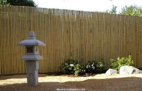 mur de bambou exterieur tige bambou canne de bambou cl 244 ture terrasse mobilier