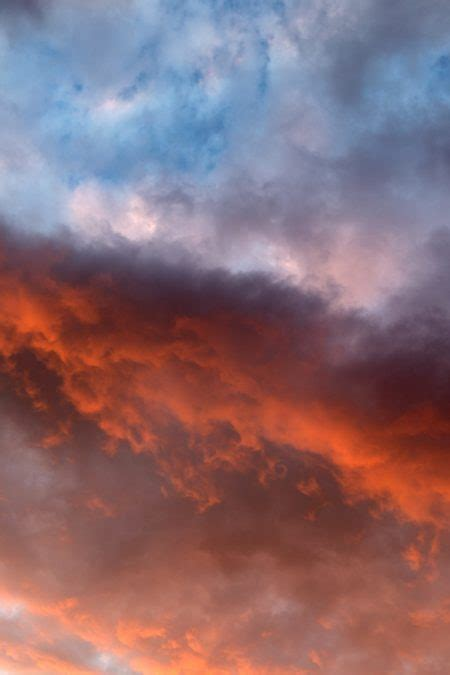 picture orange sky nature sky clouds sunset