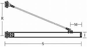 Hsi 3 Ton Wall Bracket Tie Rod Jib Crane 20 Ft Span