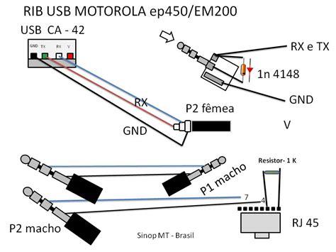 esquema cable para programar un icom icv8 radiocomunicaciones yoreparo