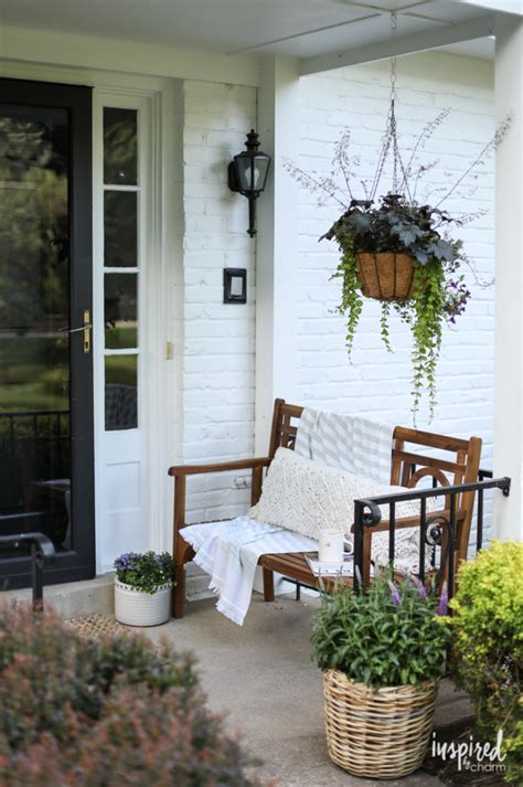 Decorating Ideas For Front Porch front porch decorating ideas and outdoor styling tips