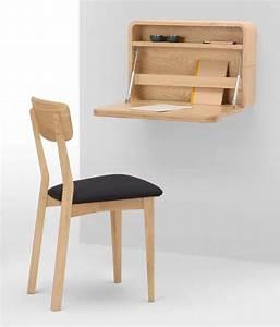 Construire Un Bureau : 12 id es d co de bureau mural rabattable ~ Melissatoandfro.com Idées de Décoration