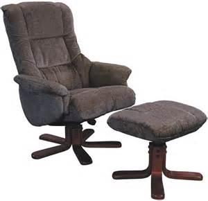 Cherry Wood Kitchen Chairs by Gfa Shangri La Mink Fabric Swivel Recliner Chair Global