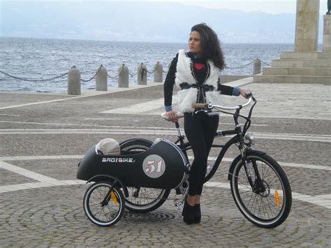 electric sidecar bicycle  cool   autoevolution