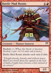 Competitive Samurai Deck Mtg by Mothrider Samurai Chions Of Kamigawa Magic The