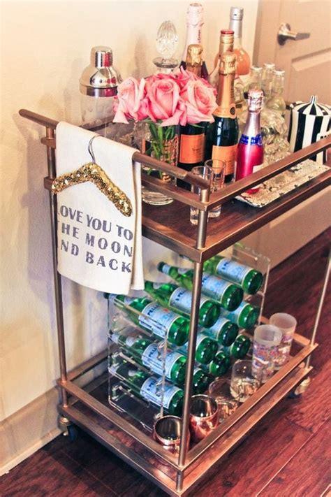 decorate  bar cart chronicles  frivolity