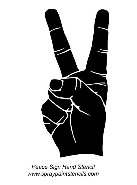 Peace Hand Sign | Piece Sign Hand --- View the Image