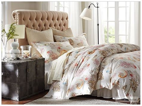 popular reactive printing shell comforter bedding sets 4pc