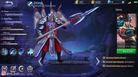 Gambar 3d Zilong