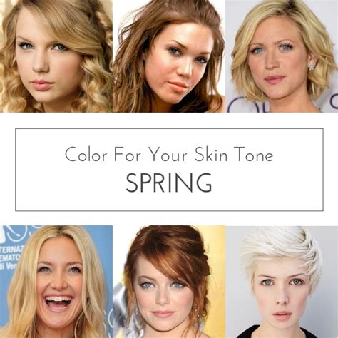 colors   skin tone spring