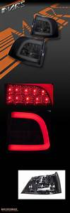 Full Smoked Led Tail Lights For Holden Commodore Ve  U0026 Vf 5