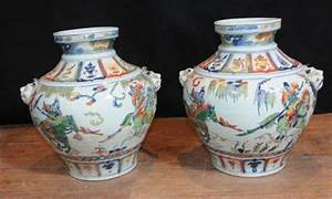 Chinesisches Porzellan Kaufen : paar chinesische porzellan qing keramik pflanzt pfe vasen ~ Michelbontemps.com Haus und Dekorationen