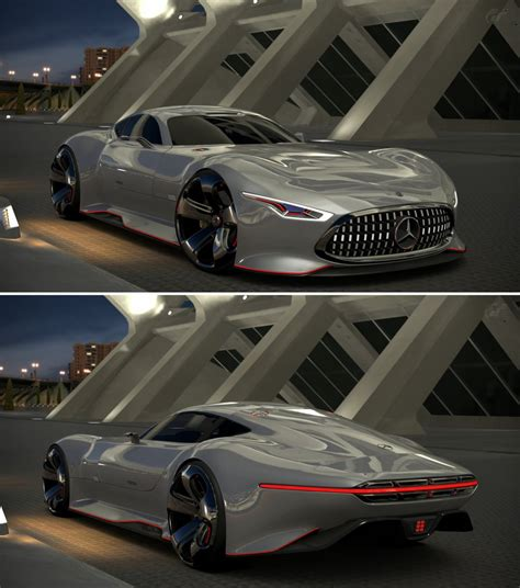 Mercedes Benz Amg Vision Gran Turismo By Gt6 Garage On Deviantart