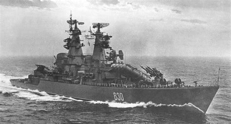 Russian Missile Cruiser Of The Union