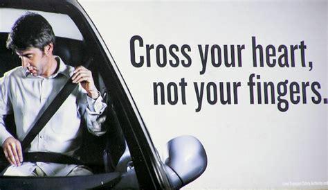 cross  heart wear  seat belt sheridanmediacom