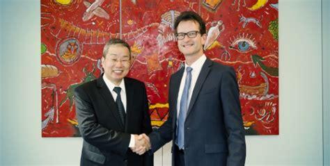 chambre commerce chine visite du nouvel ambassadeur de chine à la chambre de