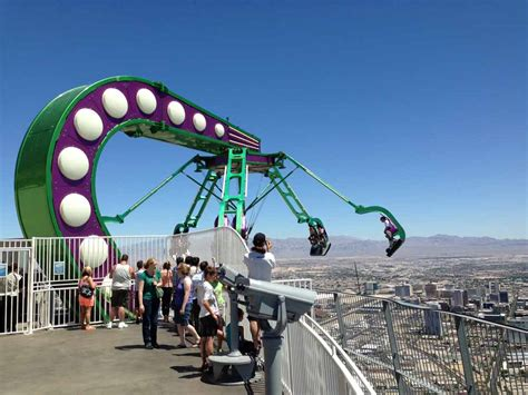 stratosphere observation deck height how do you get a fear of heights