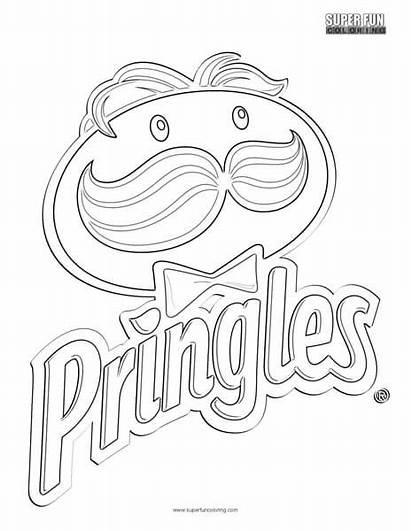 Coloring Fun Pringles Logos Printable Google Slides