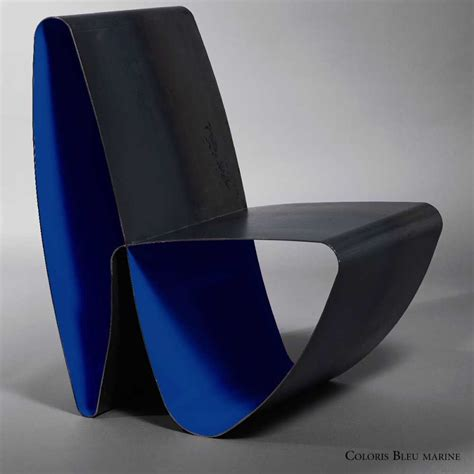 chaise de luxe design chaise de luxe en acier design infini