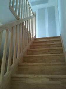 comment repeindre un escalier en bois vernis meilleures With good peindre un escalier en blanc 2 comment repeindre facilement un escalier en bois