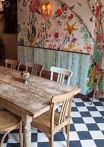 Fliesen Schachbrett Küche : die wohngalerie blumen f r die k che inspiration der bakeri in new york ~ Sanjose-hotels-ca.com Haus und Dekorationen
