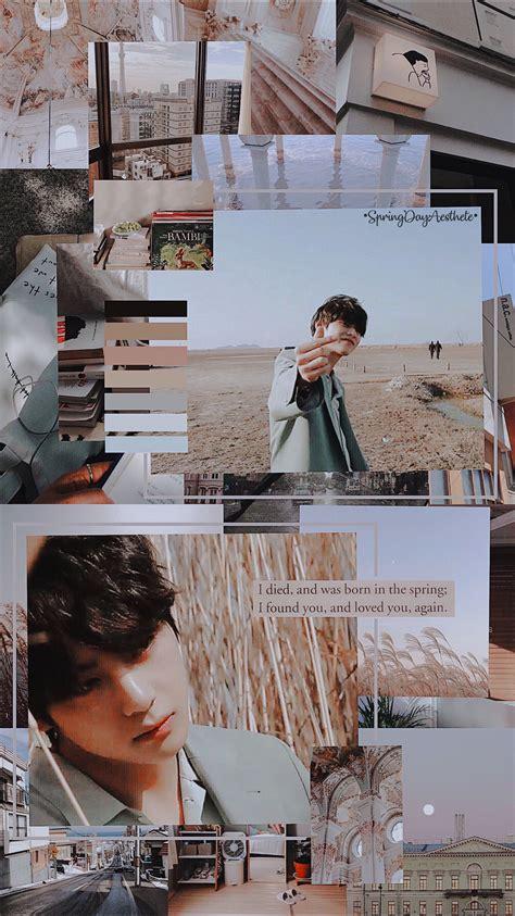 aesthetic wallpaper taehyung bts papel de