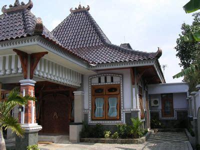 gambar denah rumah jawa kuno contoh
