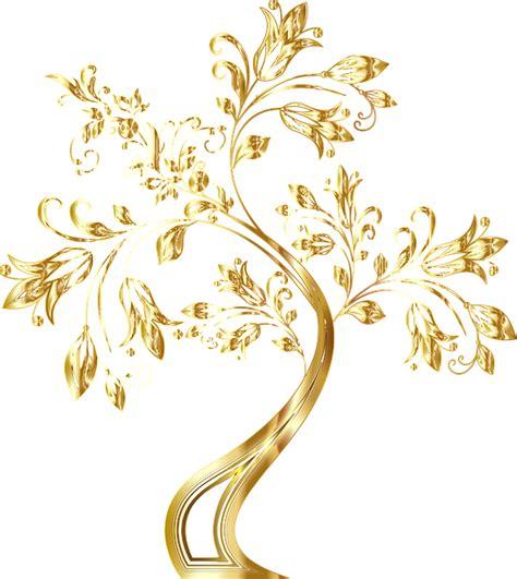 photo black gold floral background image frame wavy