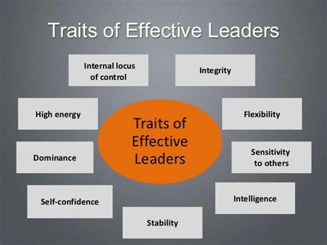 leadership traits  ethics